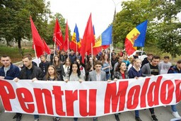 Митинги в Молдове