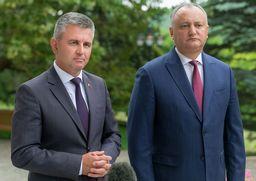 Президенты Приднестровья и Молдовы